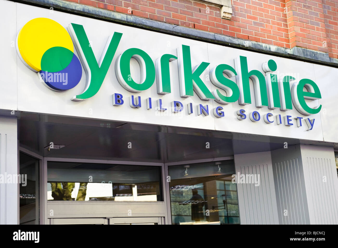 Yorkshire Building Society, Cardiff Wales UK Stockbild