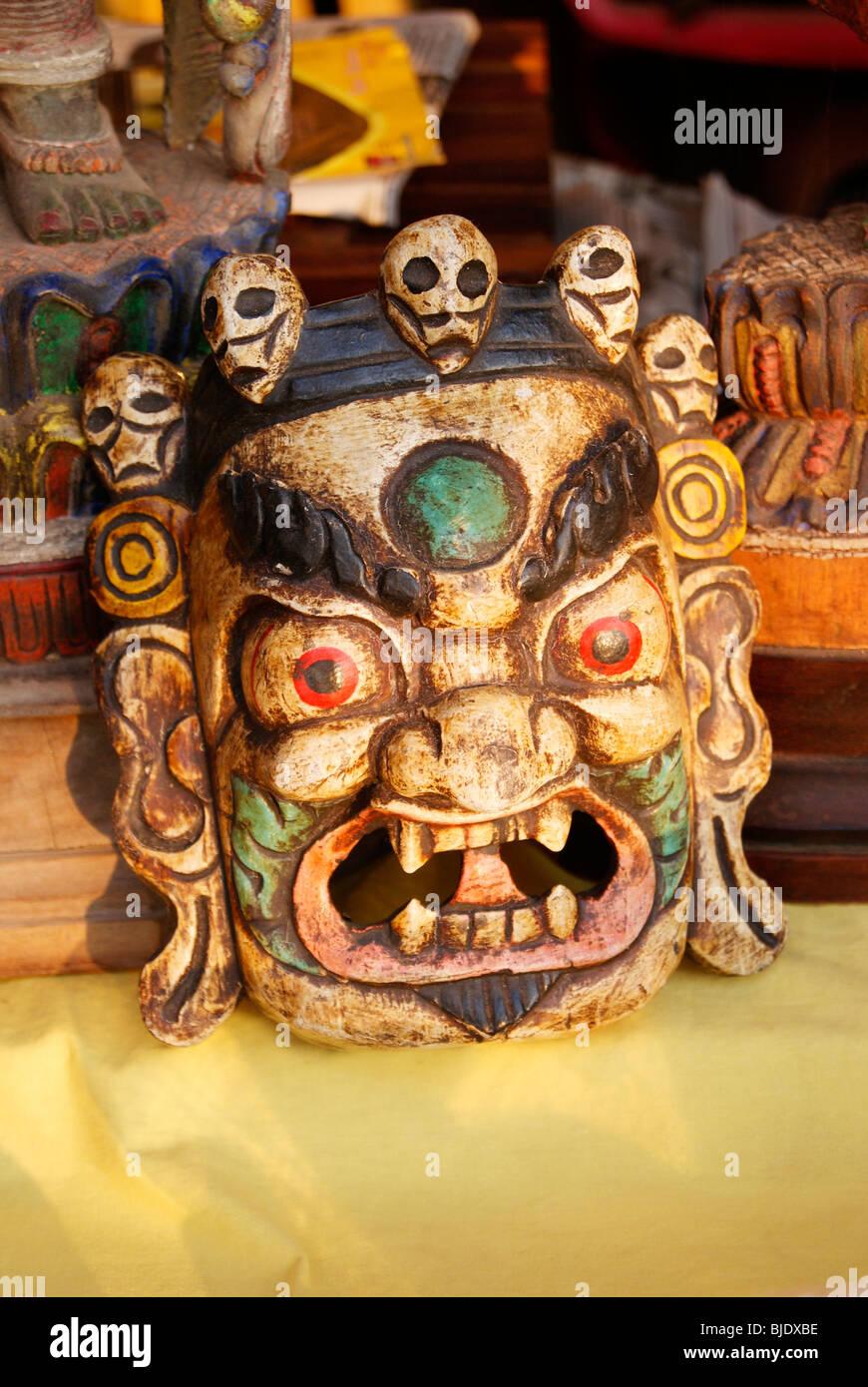 Schaurige Maske Stockbild