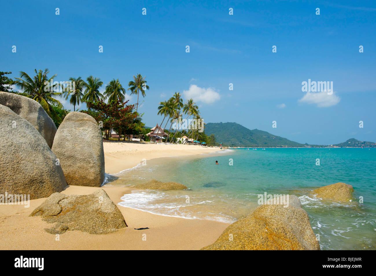 Lamai Beach, Insel Ko Samui, Thailand Stockbild