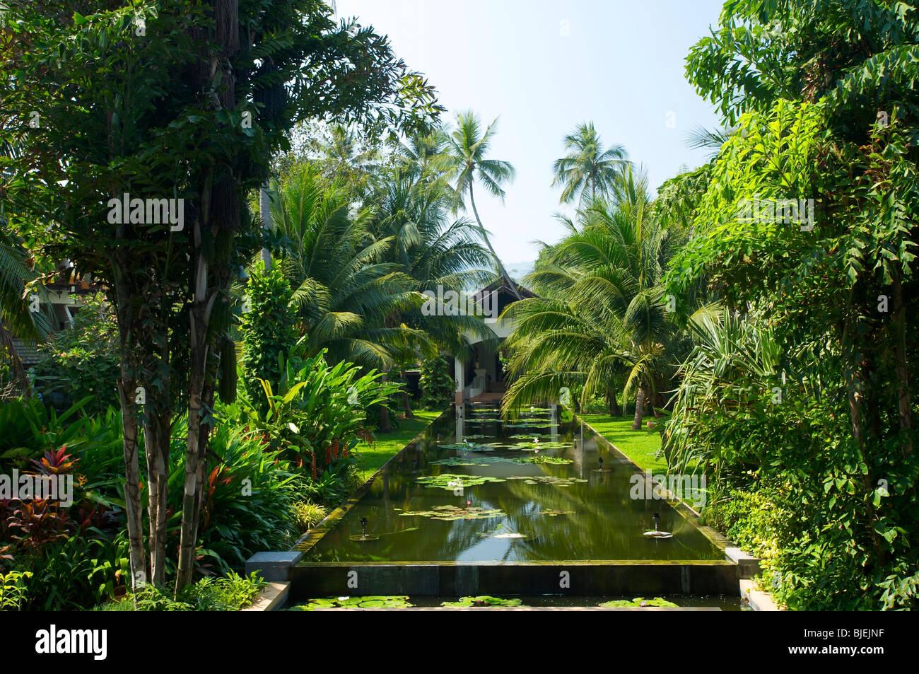 Anantara Hotel, Mae Nam Beach, Insel Ko Samui, Thailand Stockbild