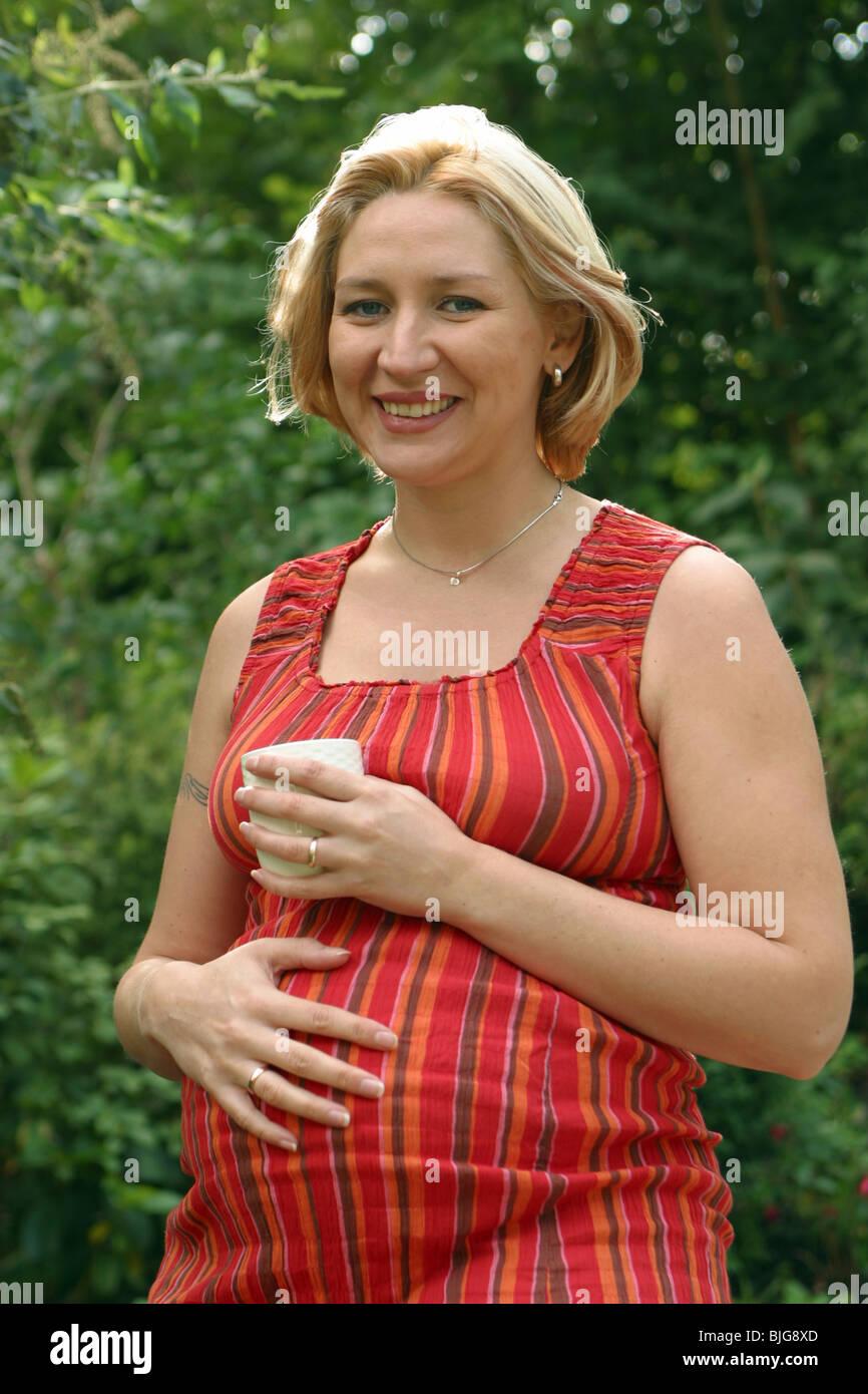Hochschwanger