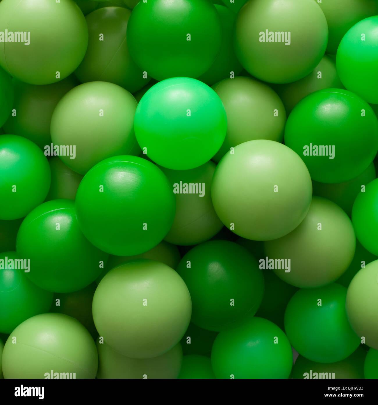 Grüne Kugeln Stockbild