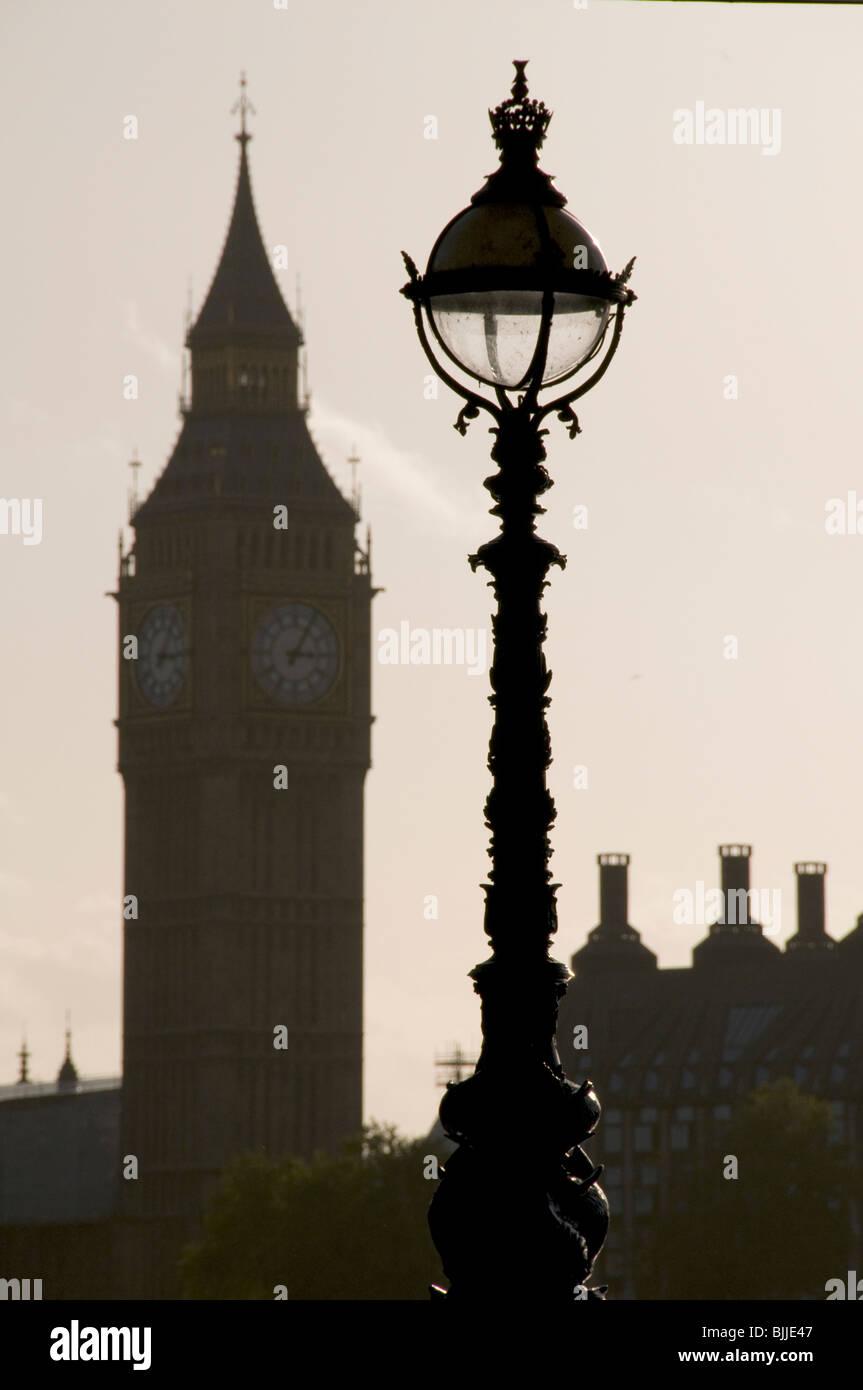 VEREINIGTES KÖNIGREICH. Die Häuser des Parlaments, Westminster, London. Stockfoto
