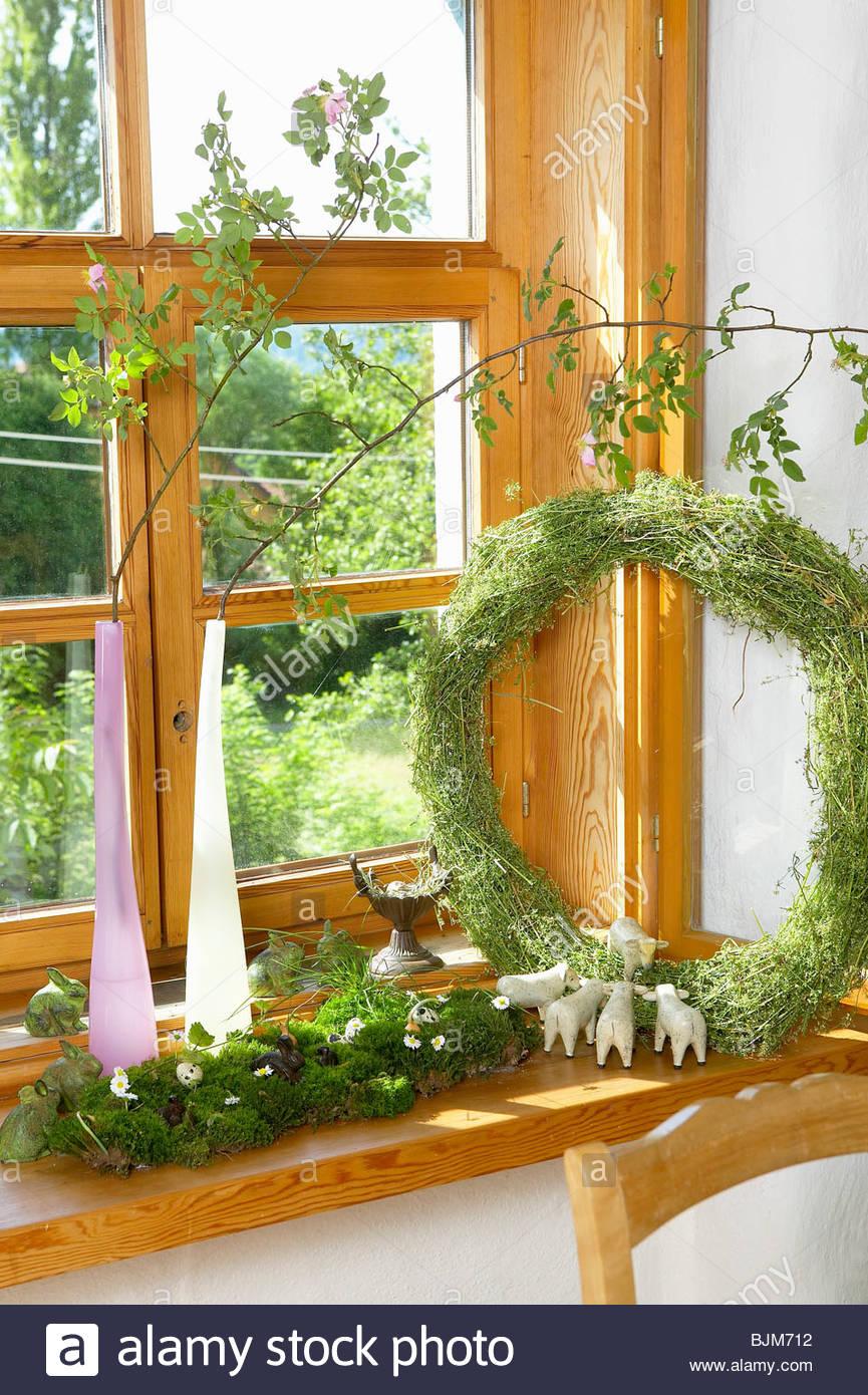 Fensterbrett Dekor Stockfotos Fensterbrett Dekor Bilder Alamy