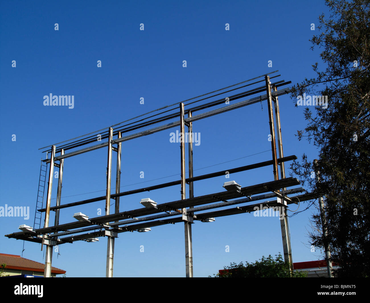 Billboard Frame Stockfotos & Billboard Frame Bilder - Alamy