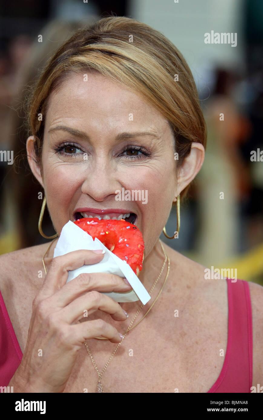 PATRICIA HEATON THE SIMPSONS MOVIE PREMIERE WESTWOOD LOS ANGELES USA 24. Juli 2007 Stockbild