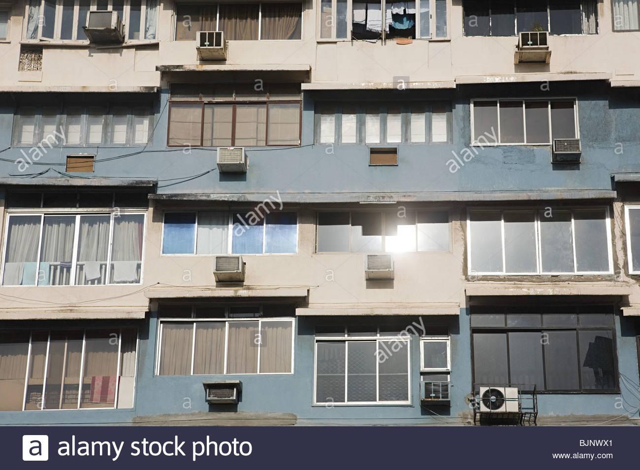 Fassade eines Gebäudes Stockfoto