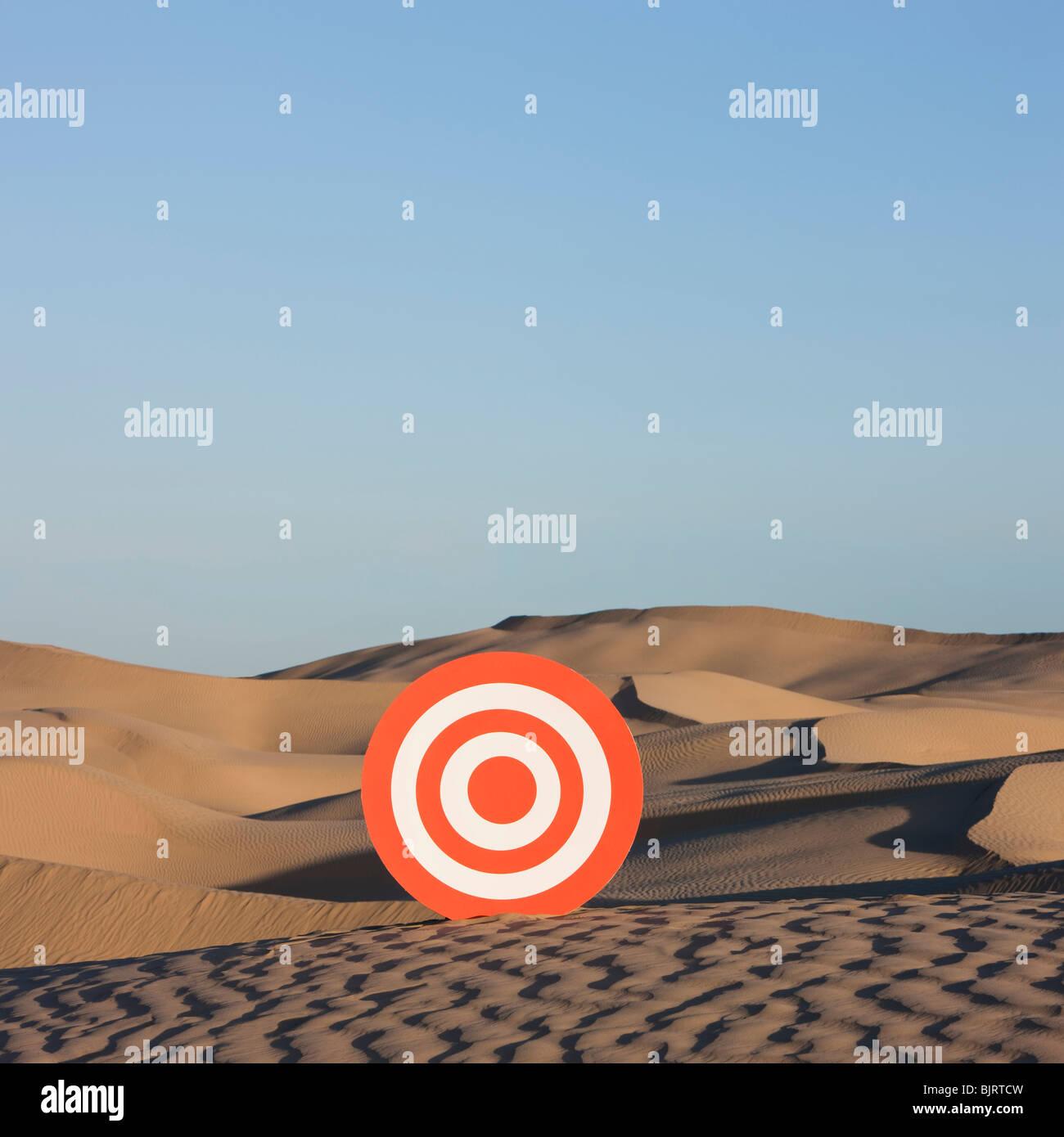 USA, Utah, Little Sahara, Ziel auf Wüste Stockbild