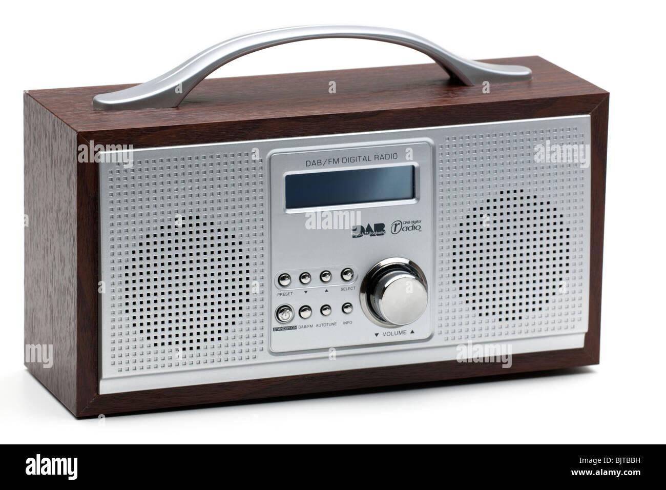 DAB-UKW-Digitalradio-Empfänger Stockbild