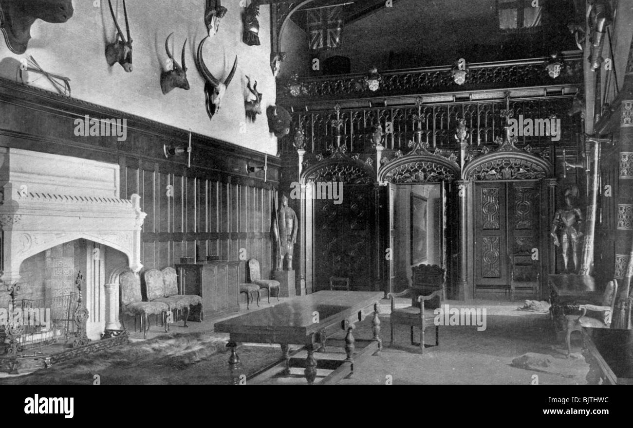 Newstead Abbey Interior Stockfotos & Newstead Abbey Interior Bilder ...
