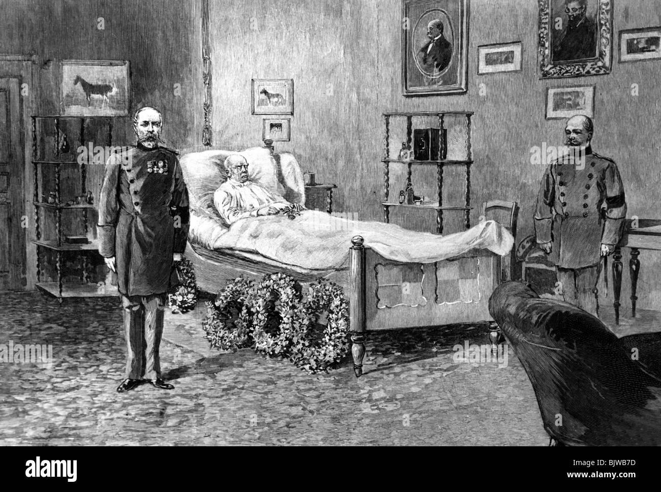 Auf Dem Sterbebett Stockfotos Auf Dem Sterbebett Bilder Alamy