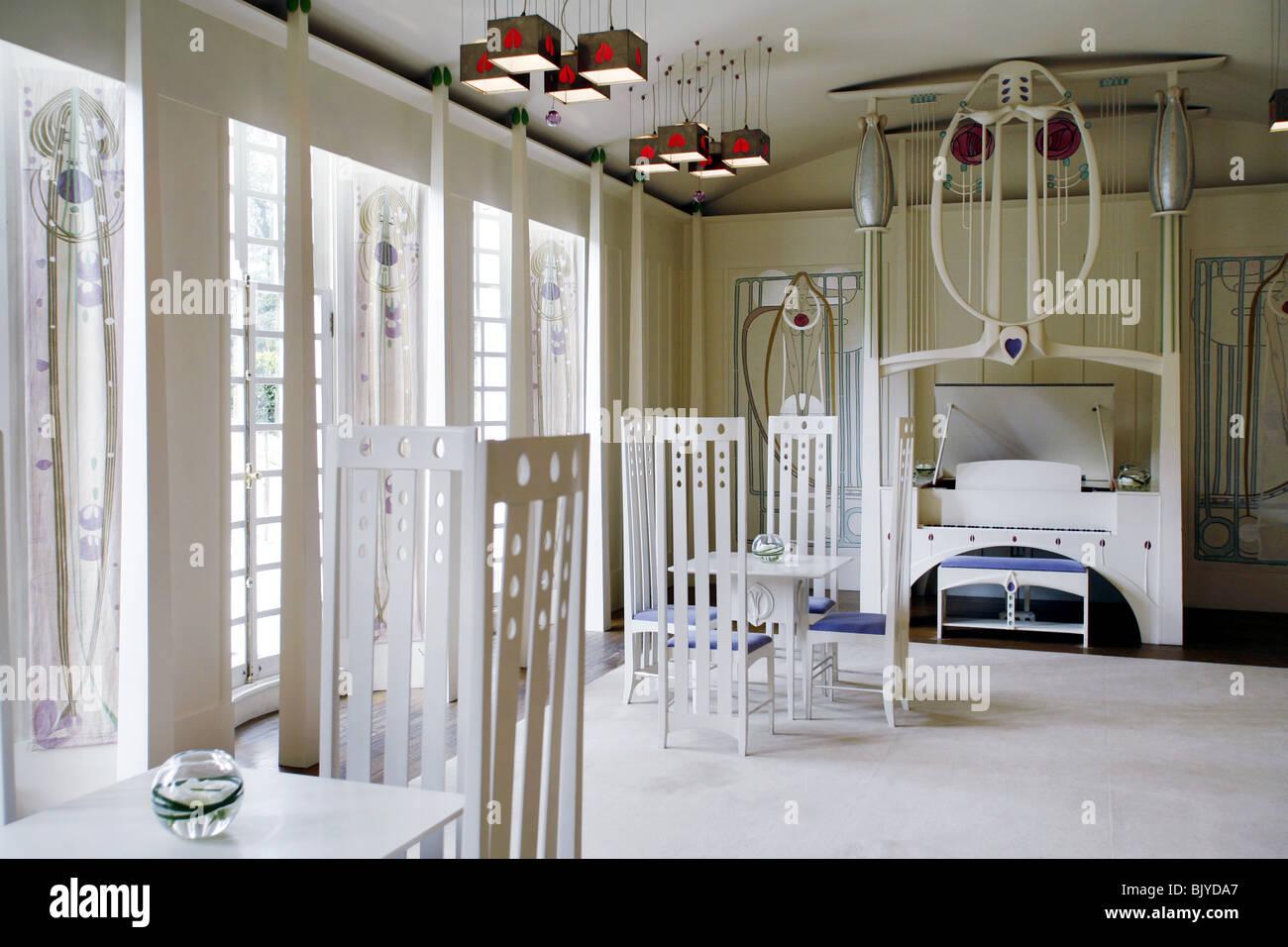 charles rennie mackintosh haus f r ein kunstliebhaber. Black Bedroom Furniture Sets. Home Design Ideas