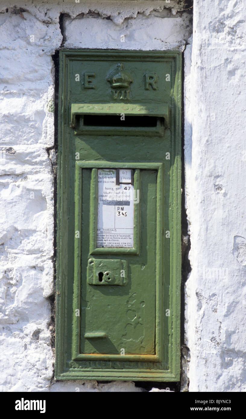 Grun Briefkasten Coole County Westmeath Irland Edward Vii