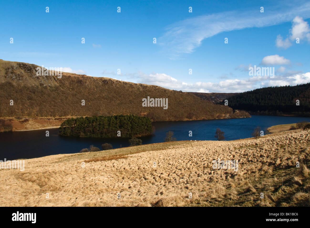 Pen y Gareg Reservoir, Elan-Tal, Mid Wales Stockbild