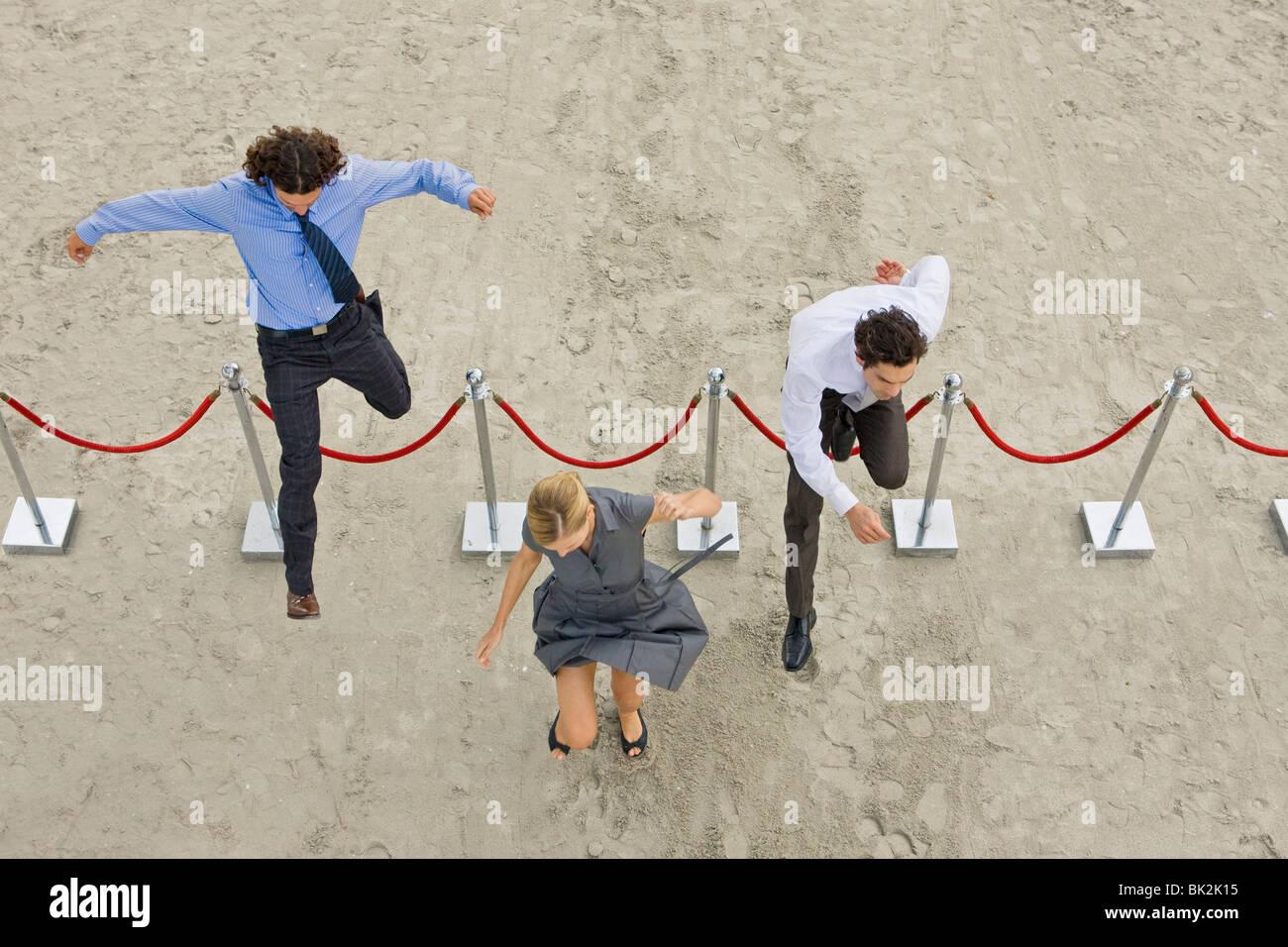 Geschäftsleben Stockbild
