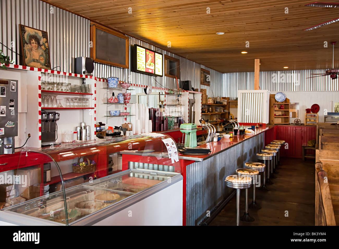 Diner Interior Stockfotos und -bilder Kaufen - Alamy