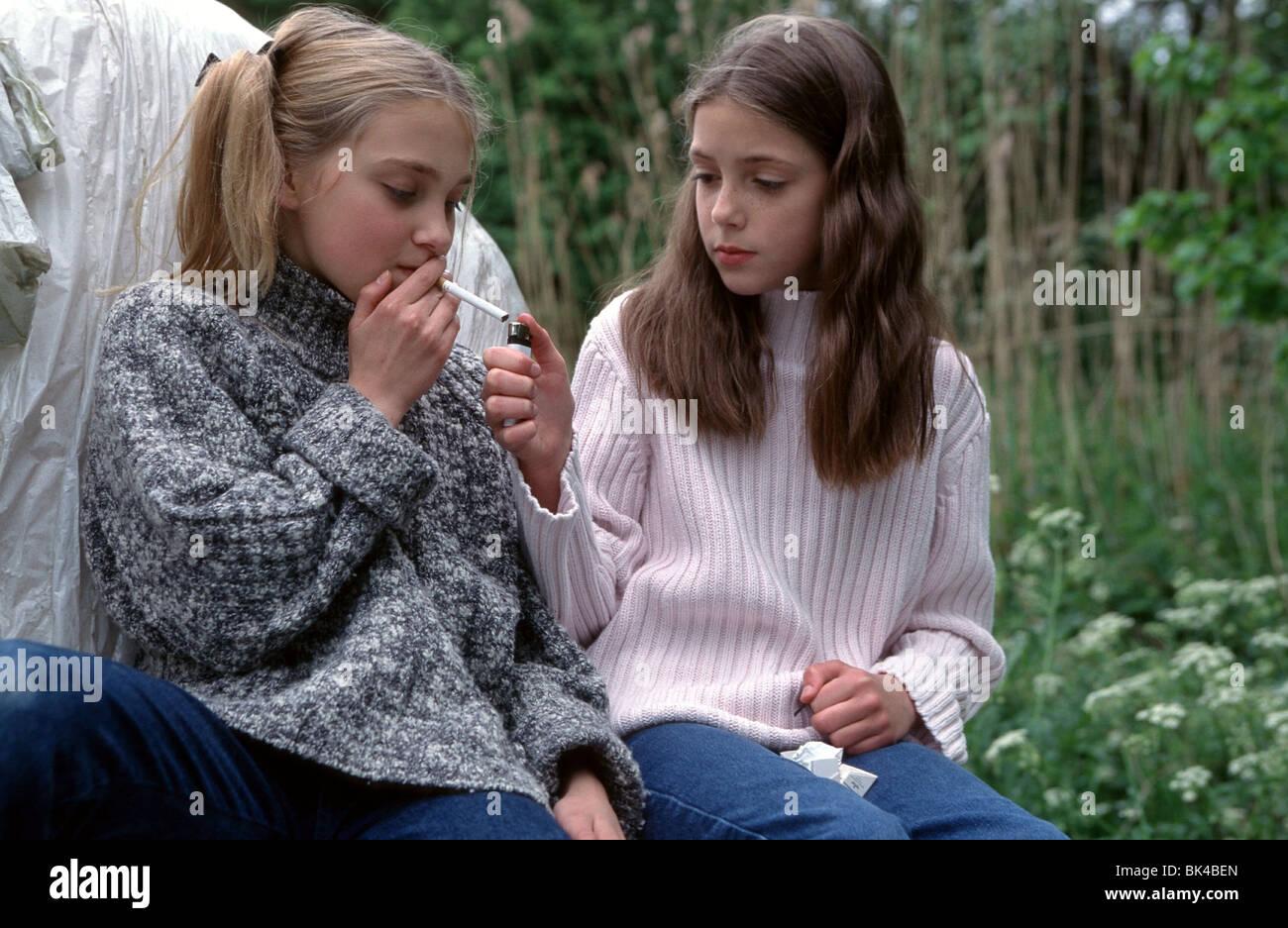 Heimlich Rauchen