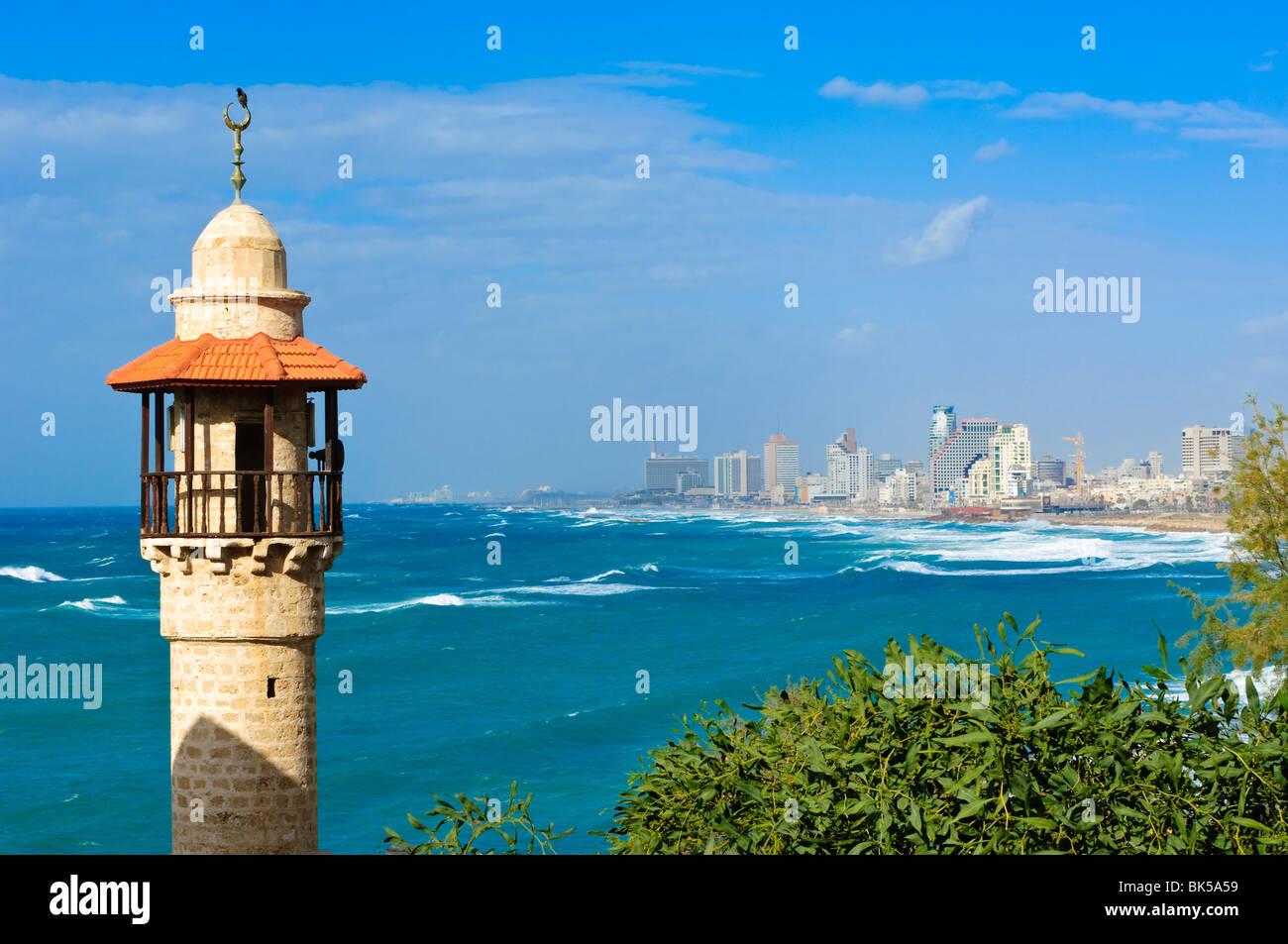 Tel Aviv, Israel, Nahost Stockbild