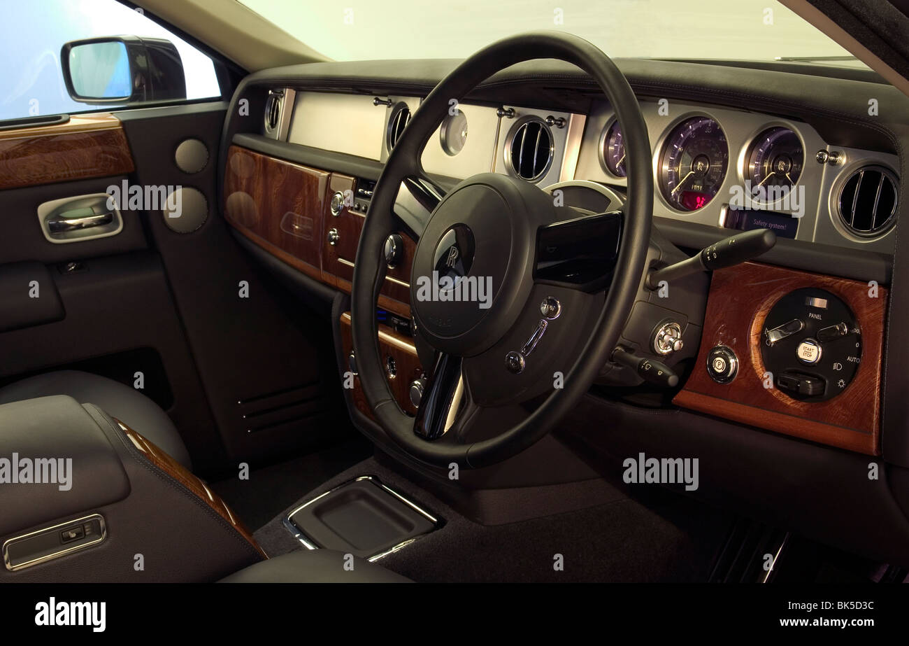 Rolls Royce Interior Stockfotos & Rolls Royce Interior Bilder - Alamy