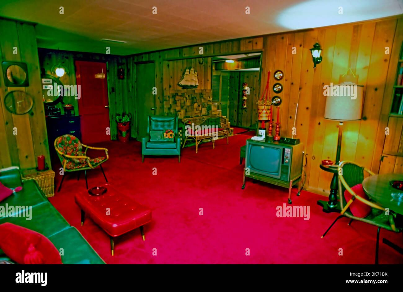 21er Jahre Retro Zimmer Stockfotos und  bilder Kaufen   Alamy