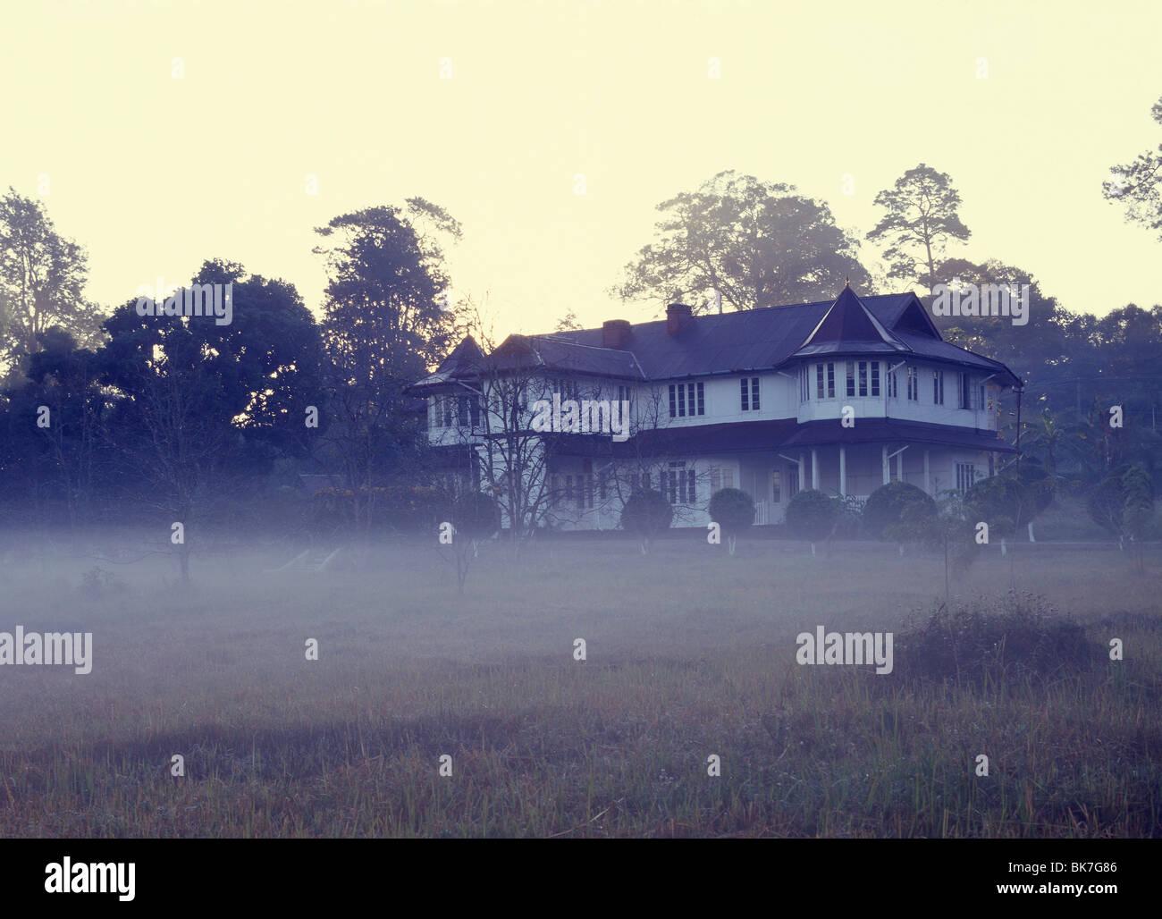 Britische koloniale Villa in die Bergstation Maymyo, Myanmar (Burma), Asien Stockbild
