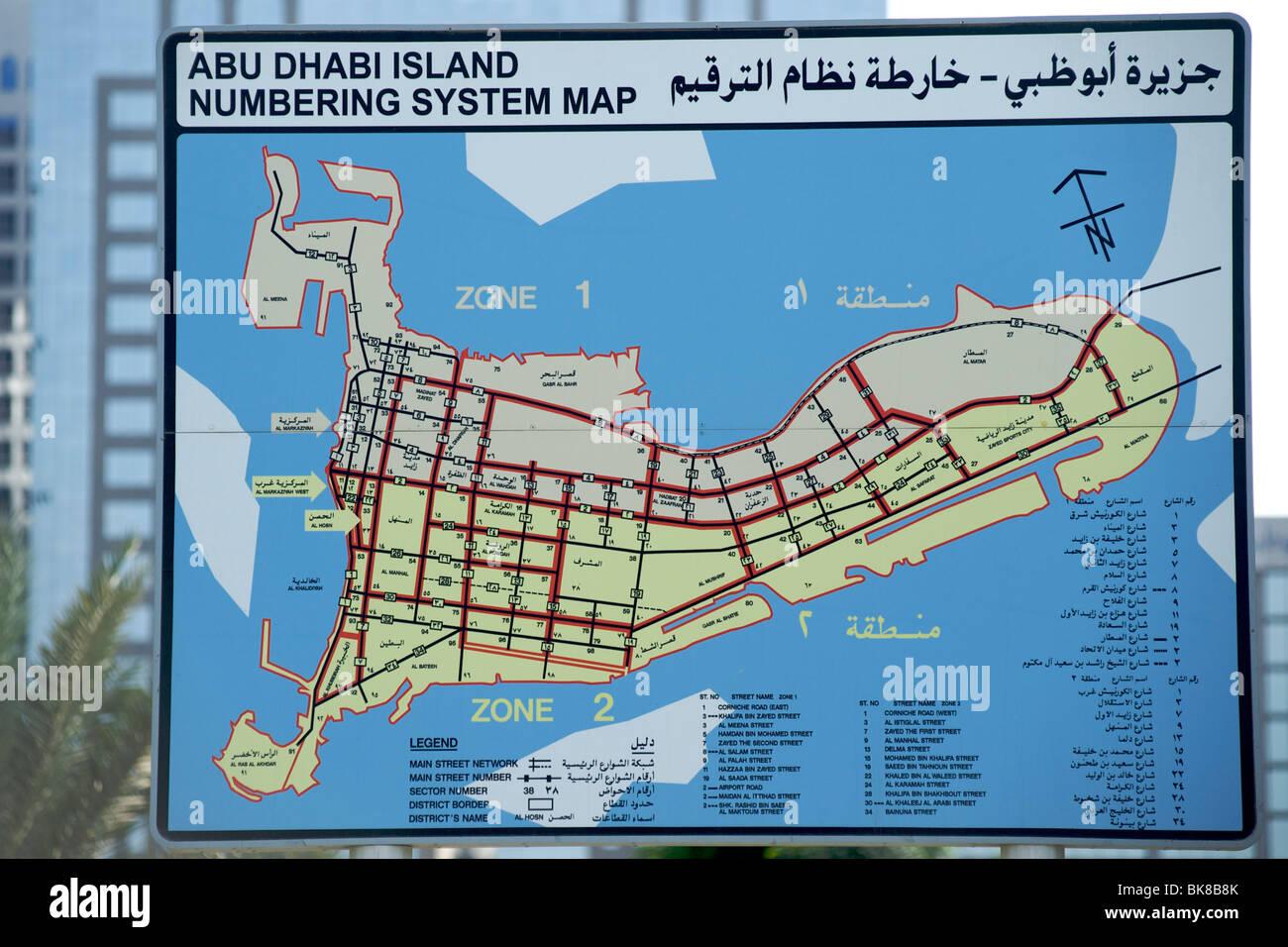 Map Abu Dhabi Stockfotos & Map Abu Dhabi Bilder - Alamy