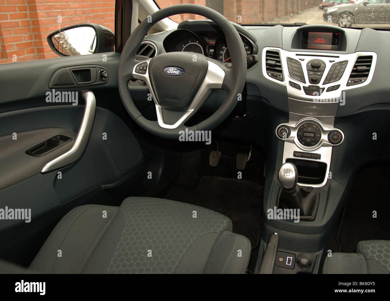Ford Fiesta 1.6 Sport - 2009 - braun Metallic - drei Türen (3D ...