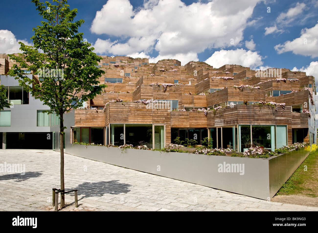 Modernen Stil Wohnung Berghaus in Kopenhagen, Dänemark, Europa ...