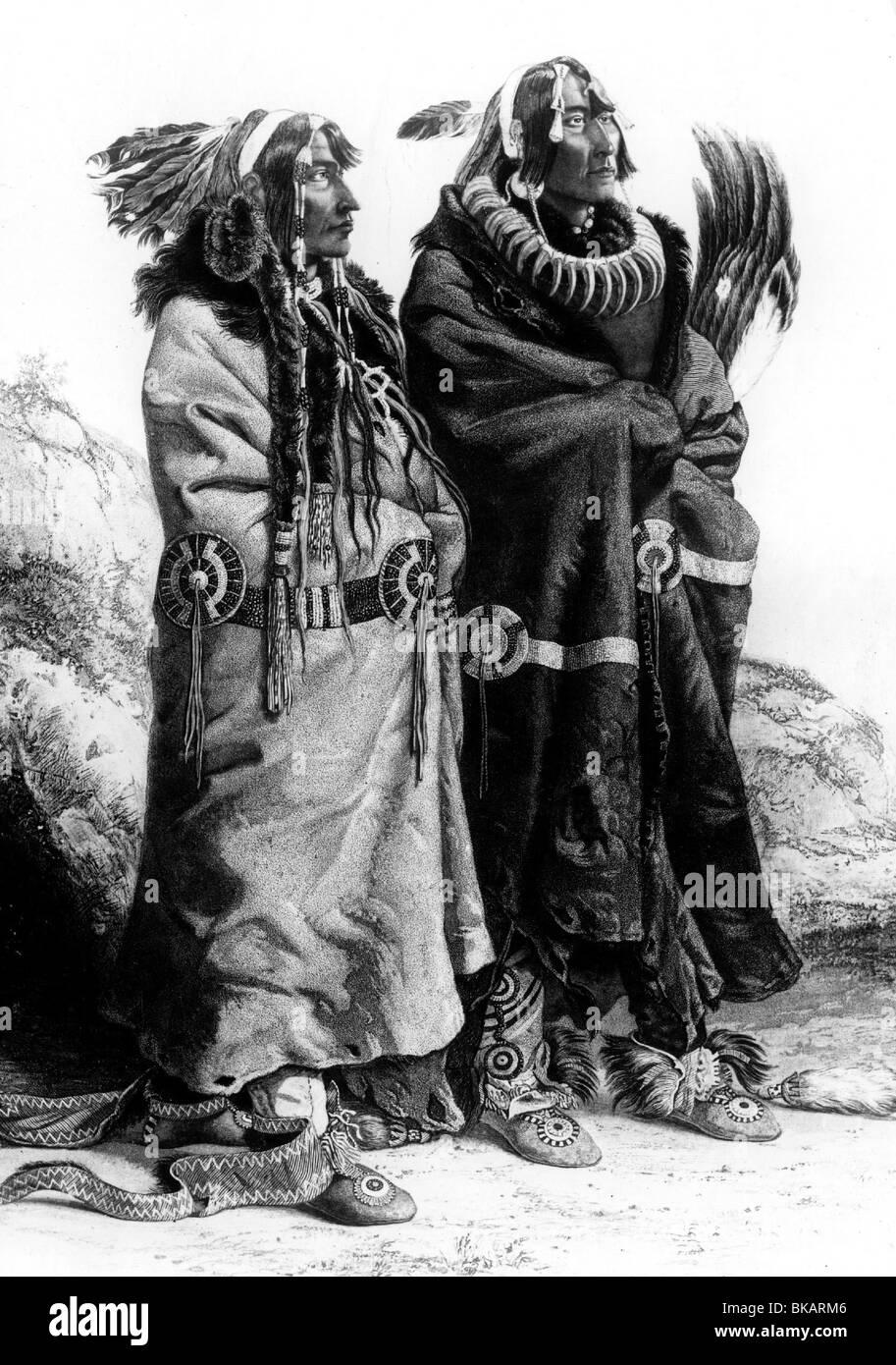 indianer gravur stockfotos amp indianer gravur bilder alamy