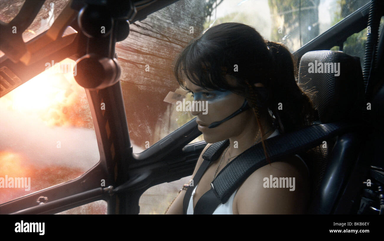 Avatar-Jahr: 2009 Direktor: James Cameron Michelle Rodriguez Stockbild