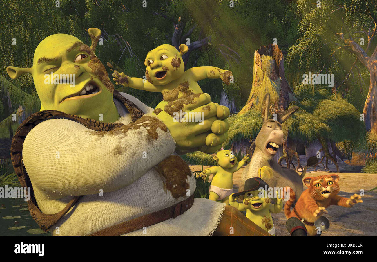 Shrek Baby Shrek The Third Stockfotos & Shrek Baby Shrek The Third ...