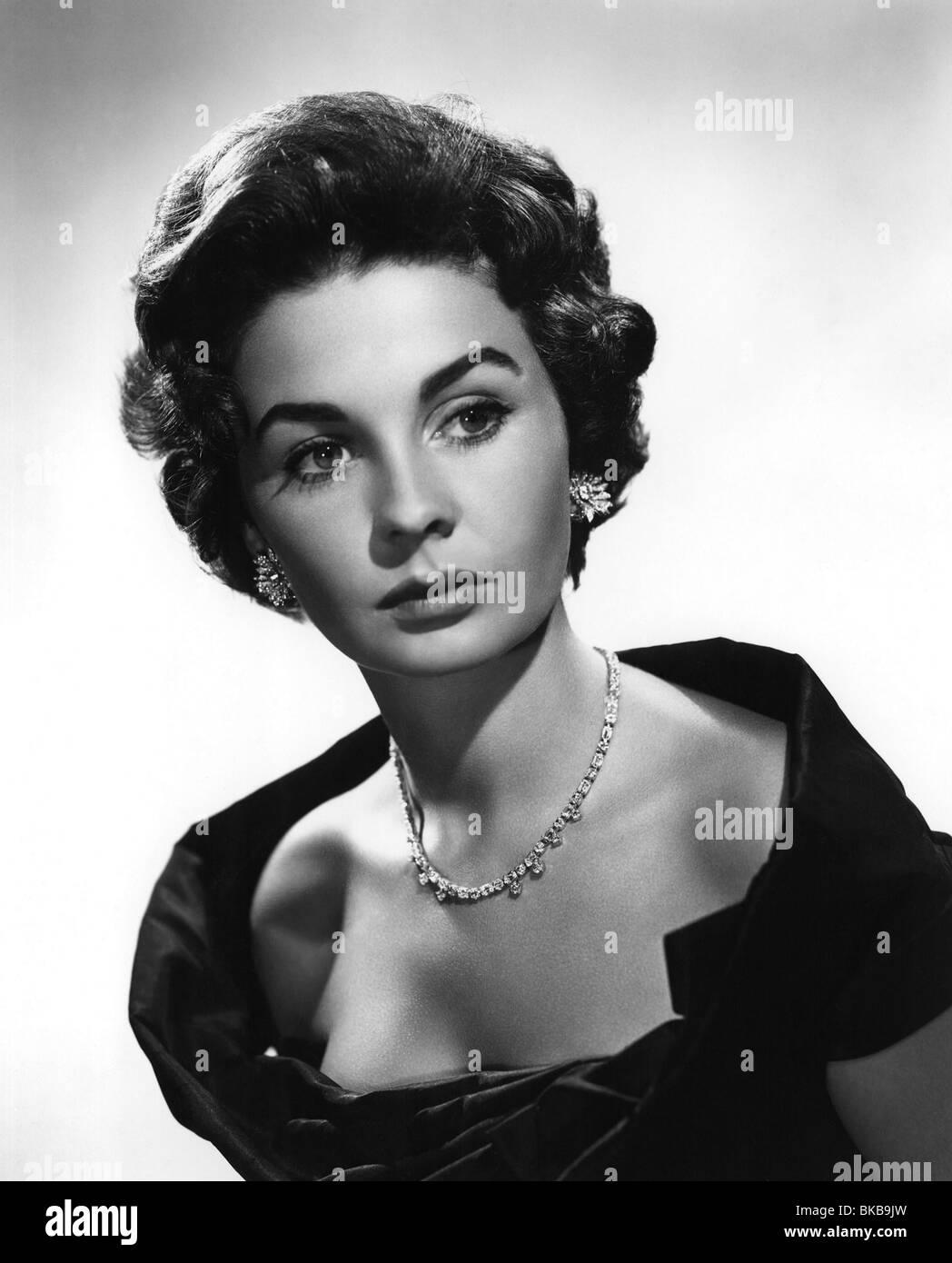 Jean Simmons ca. 1955 Stockbild