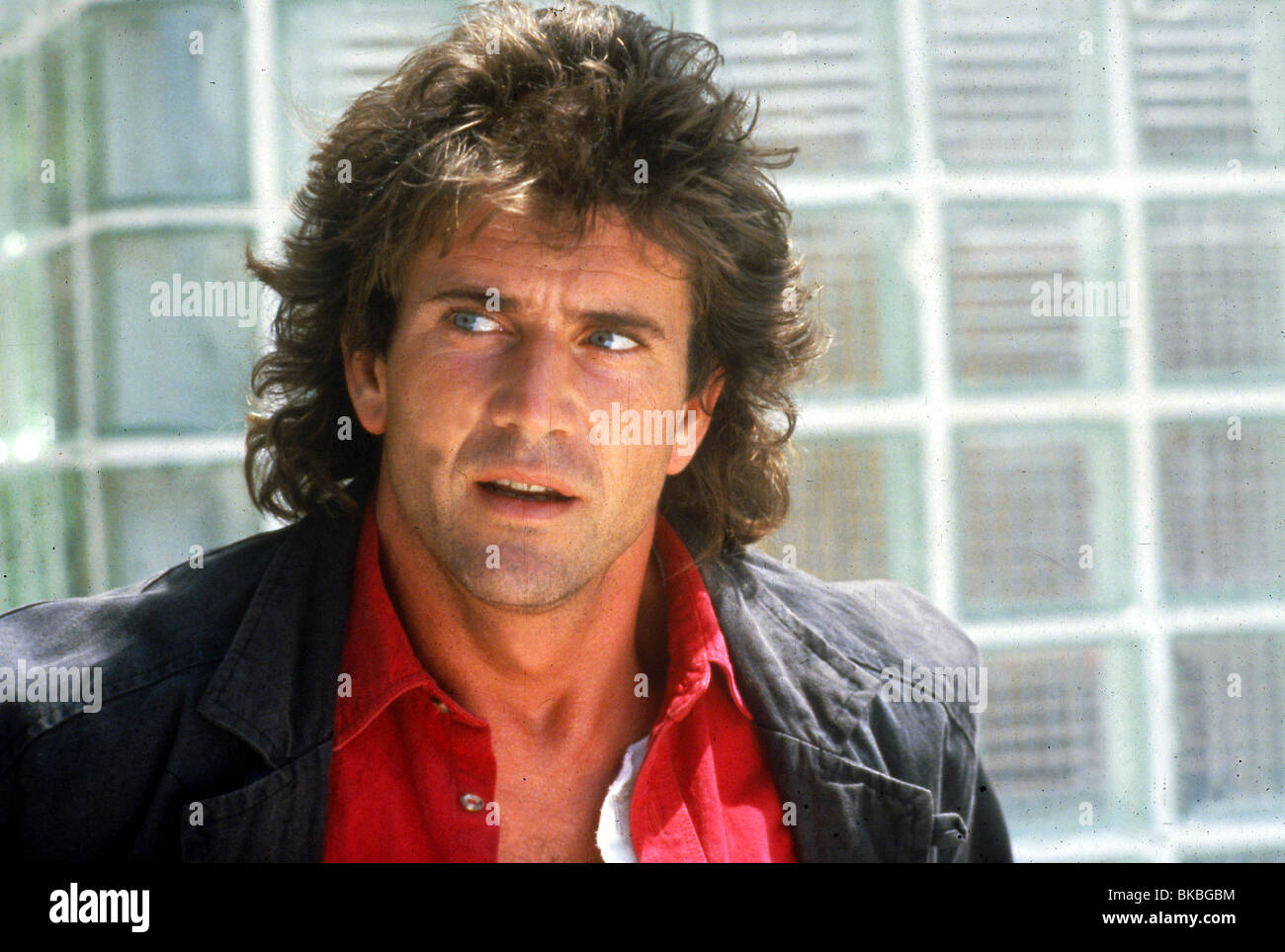 LETHAL WEAPON-1987 MEL GIBSON Stockbild