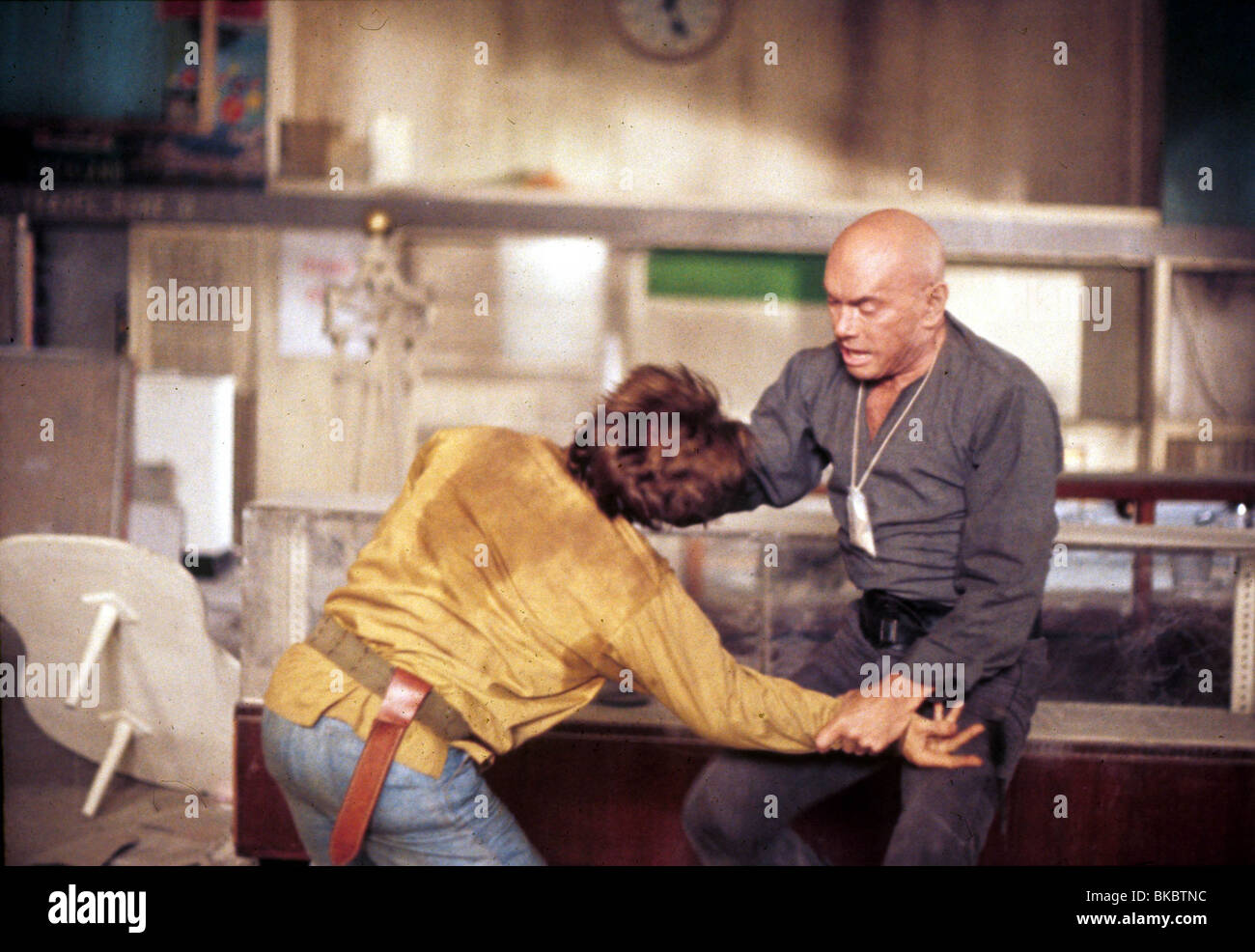 DER ULTIMATIVE KRIEGER (1975) YUL BRYNNER ULW 002 Stockbild