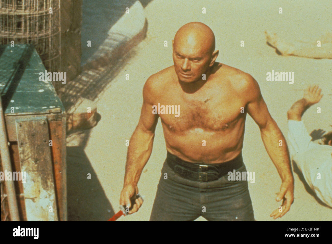 DER ULTIMATIVE KRIEGER (1975) YUL BRYNNER ULW 014 Stockbild