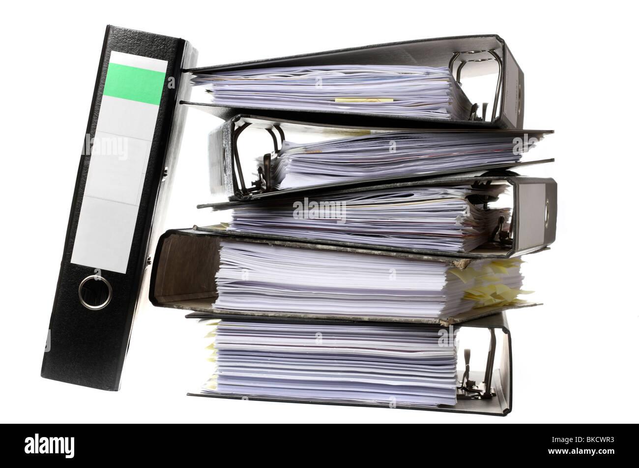 Bürobedarf ordner  Papiere, Bürobedarf, Box-Datei, Datei zu dokumentieren. Ablage ...