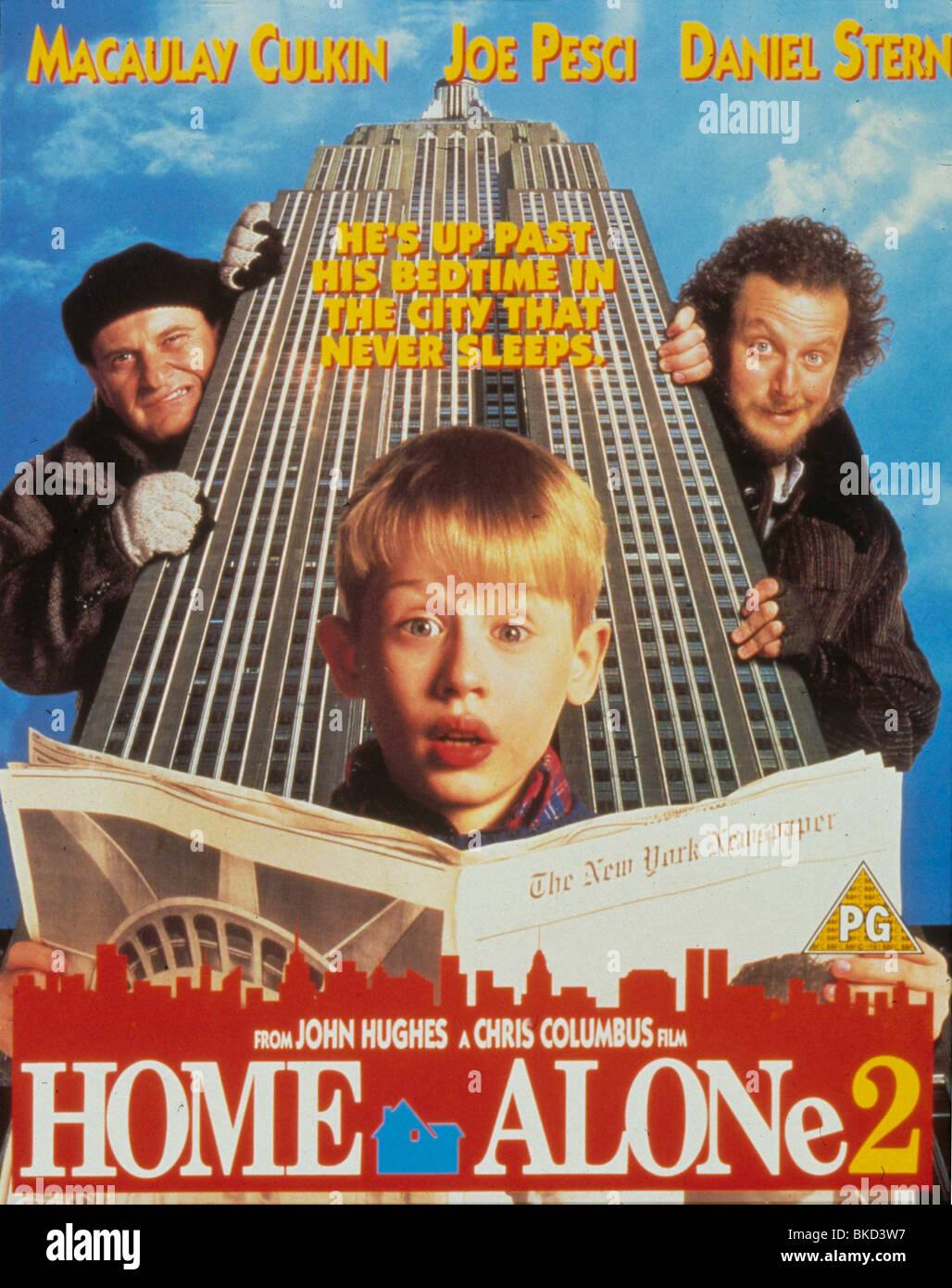 Home Alone Movie Poster Stockfotos und  bilder Kaufen   Alamy