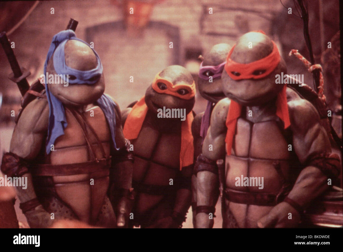 Teenage Mutant Ninja Turtles 2 Stockfotos & Teenage Mutant Ninja ...