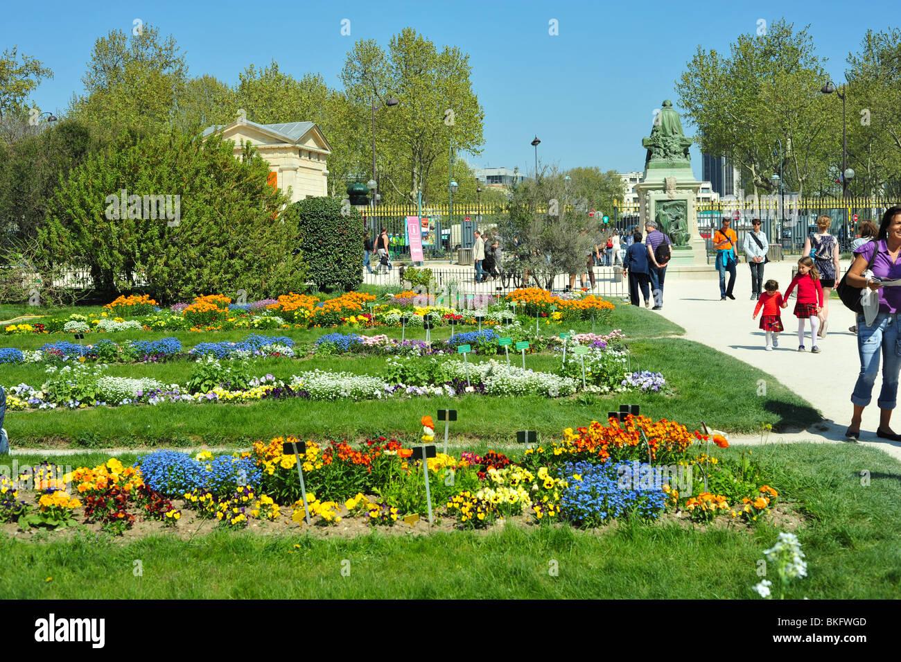 Jardin des Plantes, Paris, Frankreich Stockfoto, Bild ...