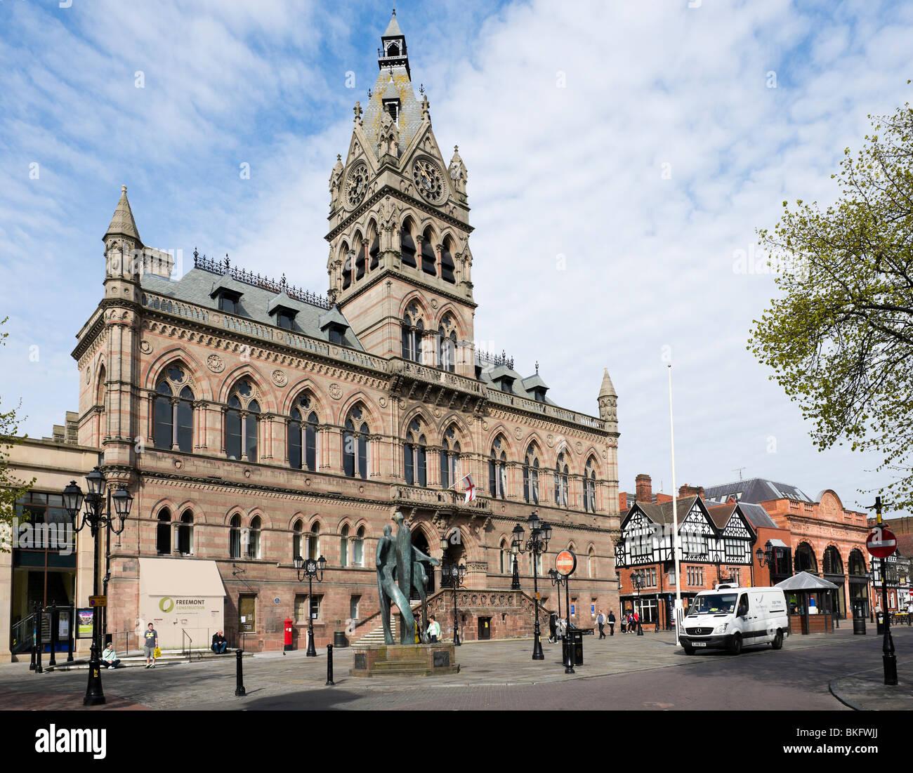 Rathaus, Chester, Cheshire, England, UK Stockbild
