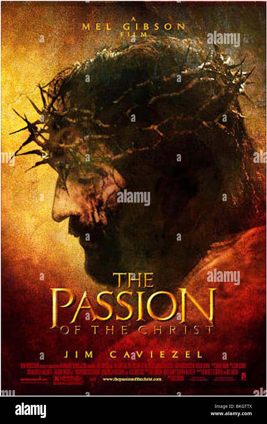 DIE PASSION CHRISTI (2004) PLAKAT PASC 001-15 Stockbild
