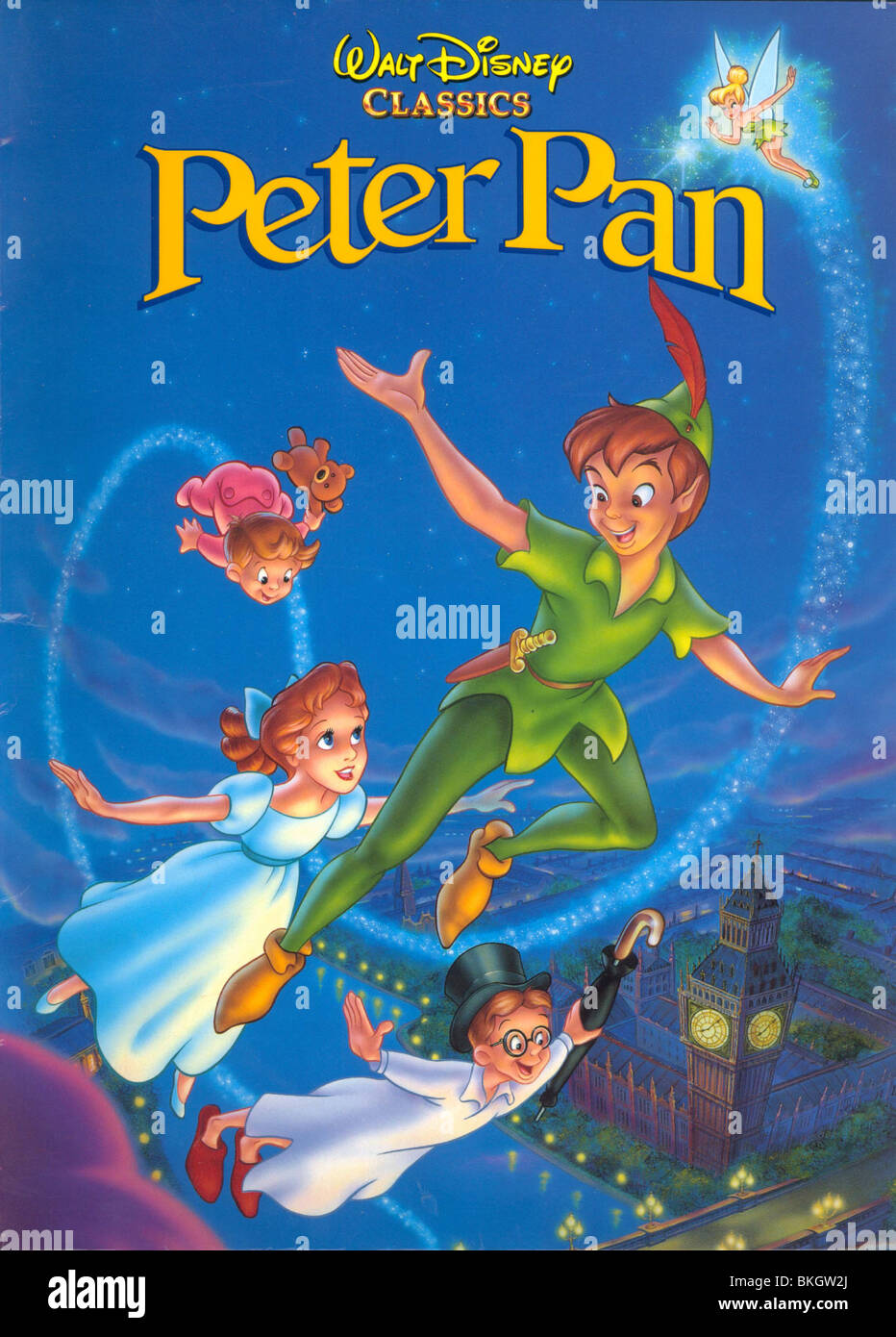 Peter Pan 1953 Animation Credit Disney Ptp 001pp Stockfoto Bild