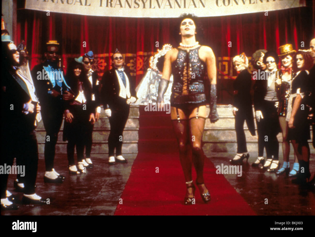 The Rocky Horror Picture Show 1975 Tim Curry Rhps 013 Stockfoto
