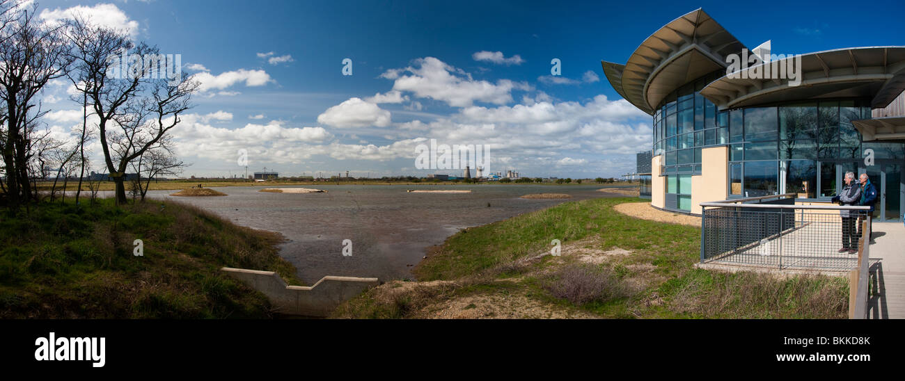 RSBP Saltholme Nature Reserve, Stockton on Tees Stockfoto