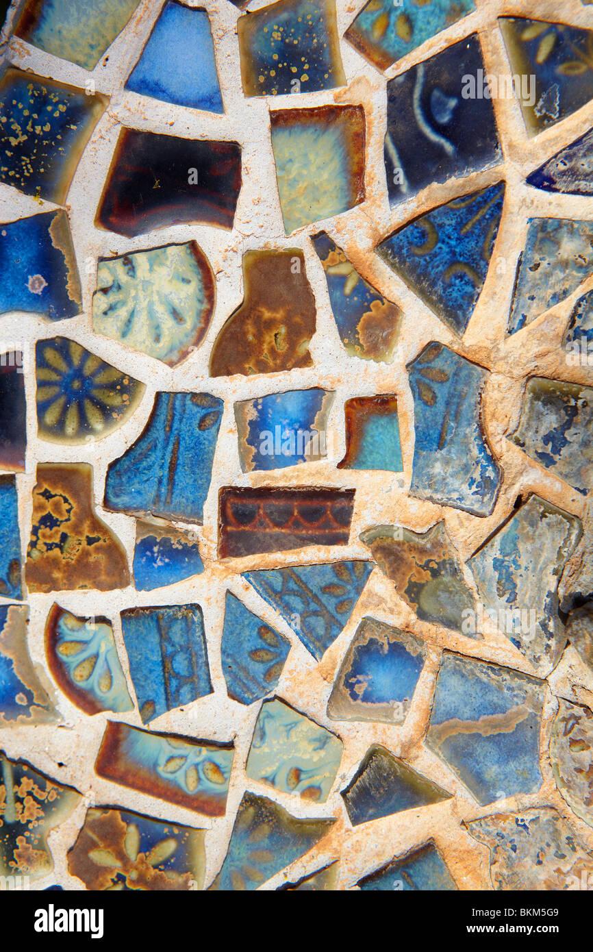 Buntes gebrochenes mosaik fliesen hintergrund stockfoto - Fliesen englisch ...