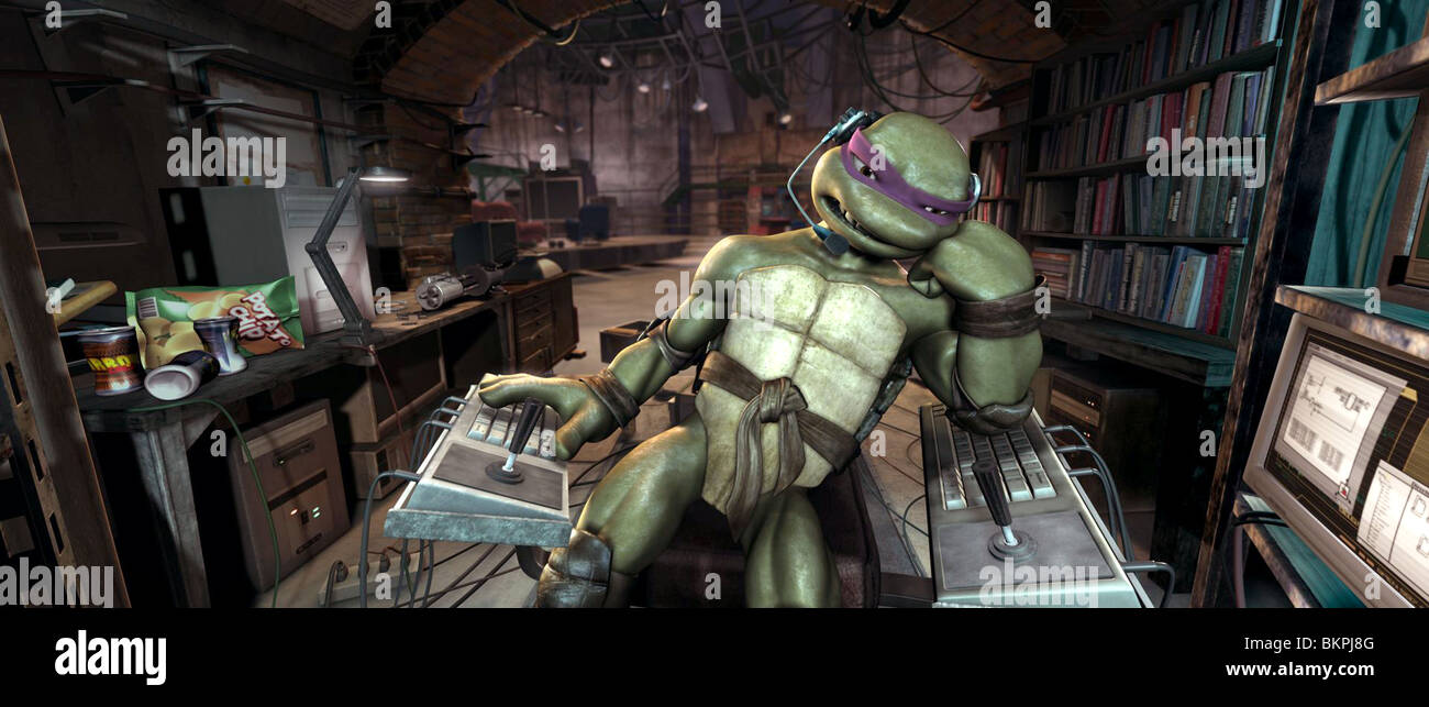 Donatello Teenage Mutant Ninja Turtles Stockfotos & Donatello ...