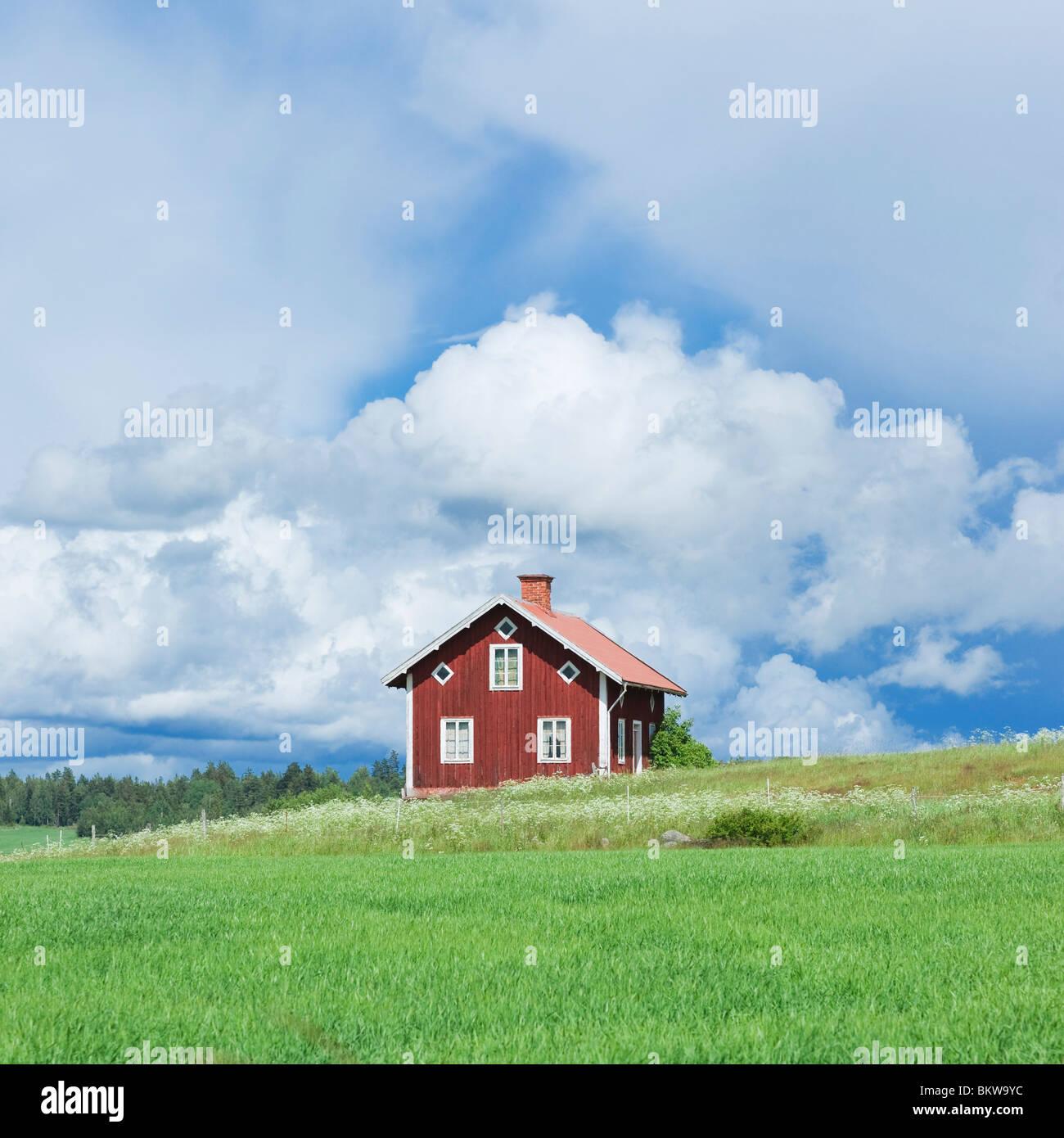 Einsames Haus