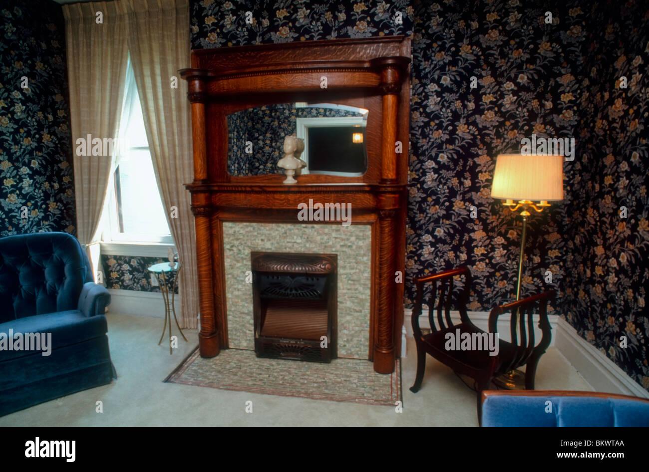 Malerisch Amerikanischer Kamin Foto Von Pittsburgh, Pa, Usa Wohnarchitektur, Amerikanische Vorstadt Häuser,