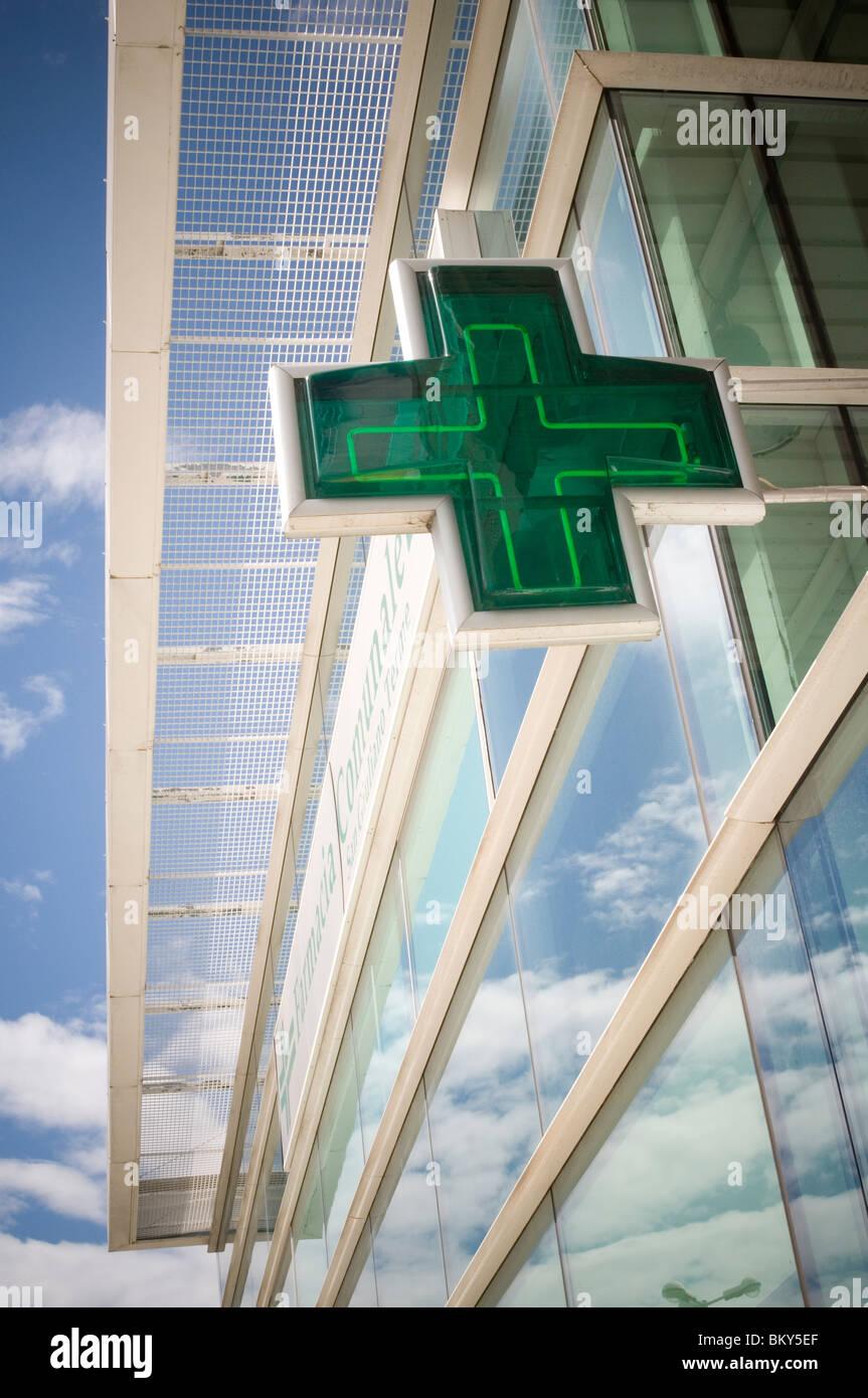 Apotheke Apotheker Apotheke Apotheken Verzicht auf medizinische Medizin Pharma Stockbild