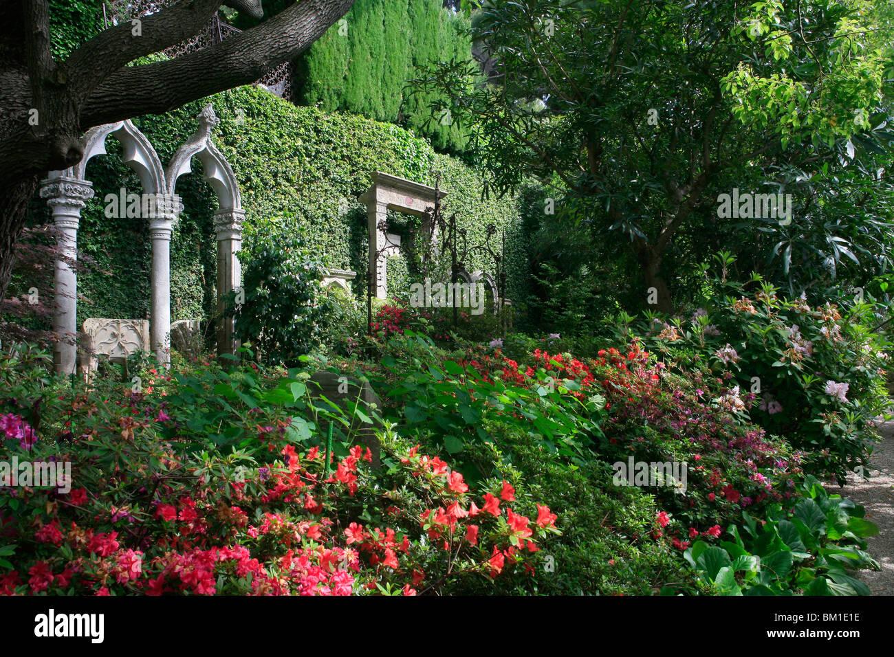 Den lapidaren oder Stein Garten Villa Ephrussi De Rothschild, St ...